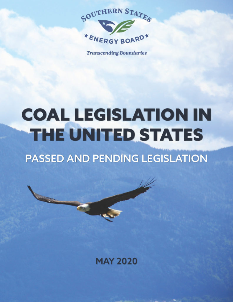 2020 Coal Legislation in the United States Primer